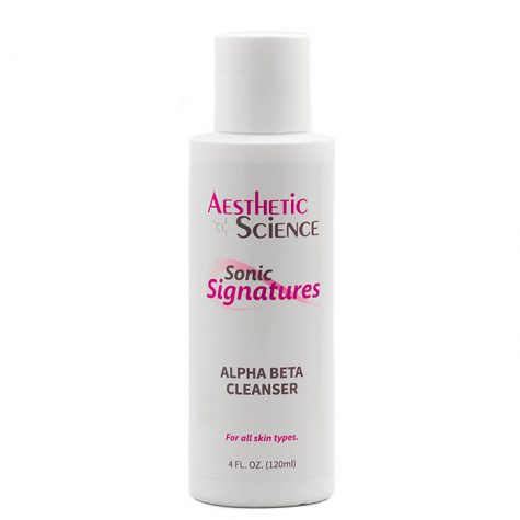 Aesthetic Science Skincare's professional skincare product Alpha Beta Cleanser