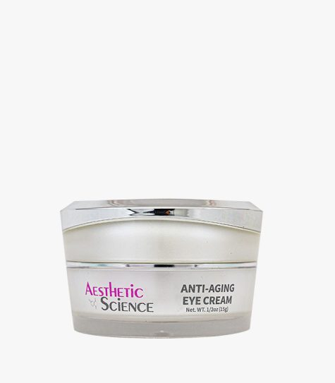 Aesthetic Science Skincare's professional skincare product Anti-Aging Eye Cream with Cucumber