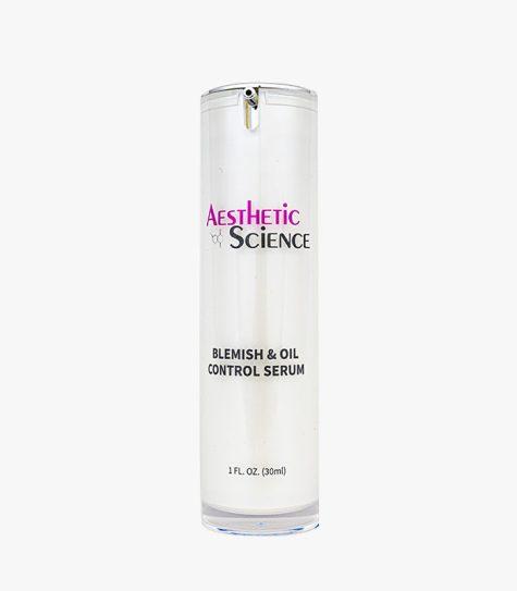 Aesthetic Science Skincare's professional skincare product Blemish & Oil Control Serum