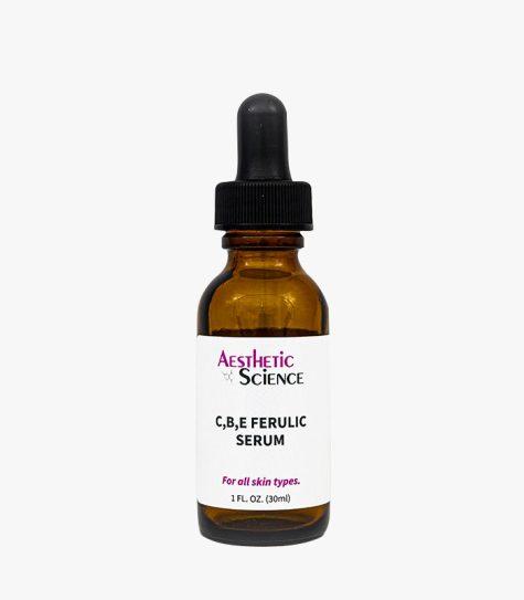 Aesthetic Science Skincare's professional skincare product C, B, E & Ferulic