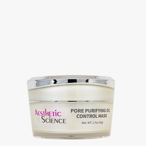 Aesthetic Science Skincare's professional skincare product Pore Purifying Oil Control Mask
