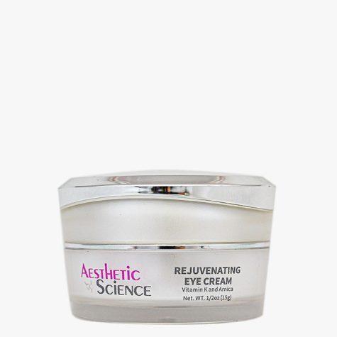 Aesthetic Science Skincare's professional skincare product Rejuvenating Eye Cream-Vitamin K and Arnica