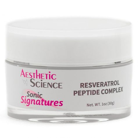 Aesthetic Science Skincare's professional skincare product Resveratrol Peptide Complex