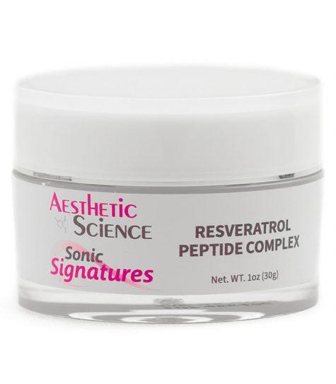 Aesthetic Science Skincare's professional skincare product Resveratrol Peptide Complex