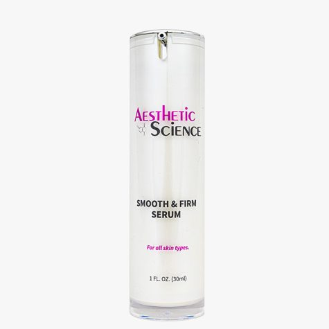 Aesthetic Science Skincare's professional skincare product Smooth and Firm Serum