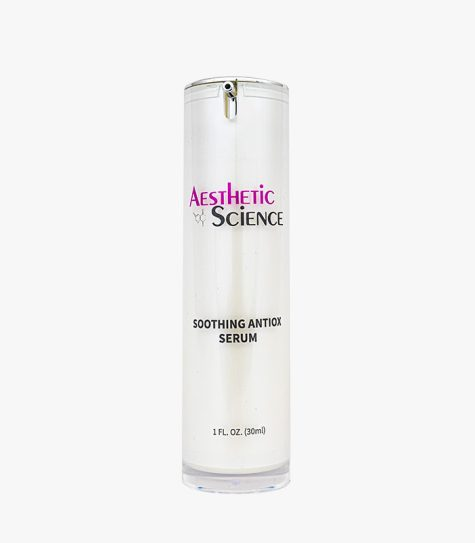 Aesthetic Science Skincare's professional skincare product Soothing Antiox Serum