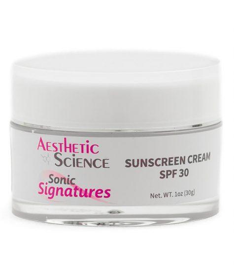 Aesthetic Science Skincare's professional skincare product Sunscreen Cream SPF 30