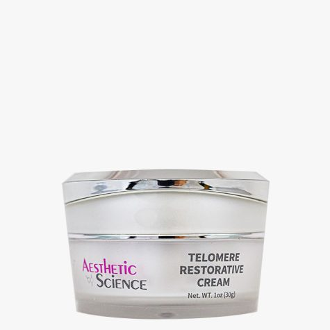 Aesthetic Science Skincare's professional skincare product Telomere Restorative Cream